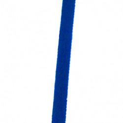 Sergé bleu roi