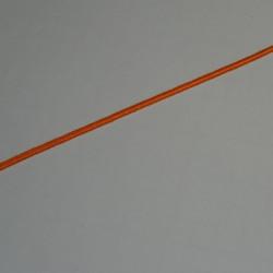 Soutache coton orange