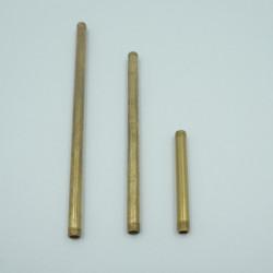tube laiton  brut 10cm