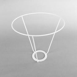 cercle abat-jour diamètre 18 avec V de 18