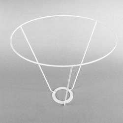 cercle abat-jour diamètre 20 avec V de 20