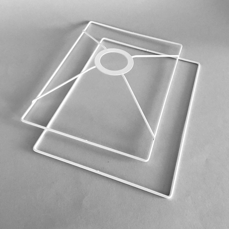 jeu de formes rectangles pour abat-jour
