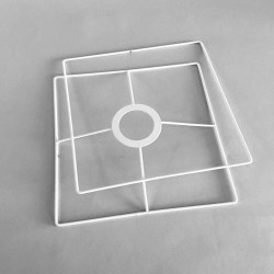 jeu de formes carrées pour abat-jour
