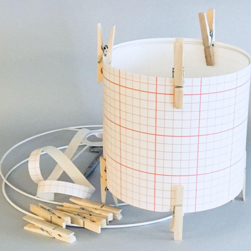 kit abat-jour cylindrique