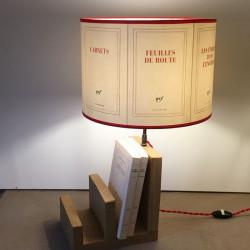 abat-jour cylindrique en papier