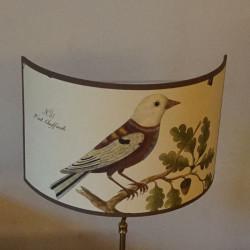 applique avec affiche oiseaux