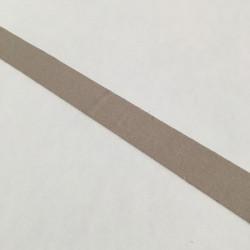 Bordure adhésive coton lin clair