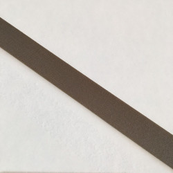 Bordure adhésive coton taupe moyen