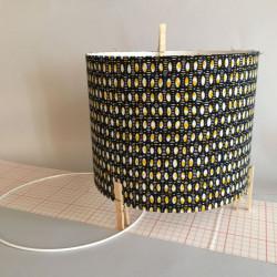 réaliser un abat-jour cylindrique en tissu