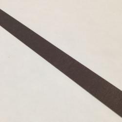 Bordure adhésive marron taupe