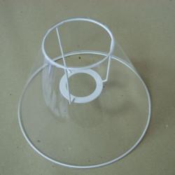 cercle nu abat-jour associé à un cercle en V