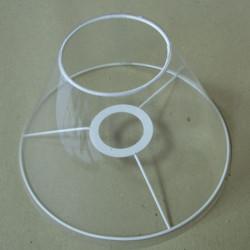 cercle nu abat-jour associé à un cercle tête