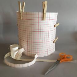 kit applique demi cylindrique