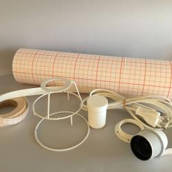 Kit lampe cylindre diamètre 10