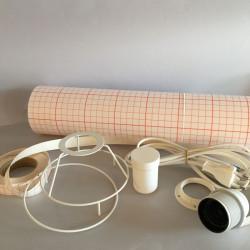 Kit lampe cylindre diamètre 12
