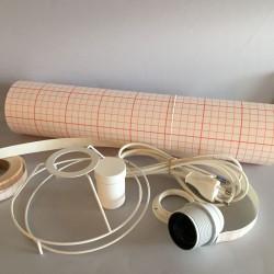 Kit lampe cylindre diamètre 15