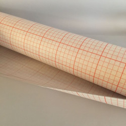Polyphane adhésif transparent feuille 50x120