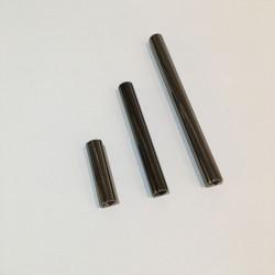 Tube perle noire 5cm