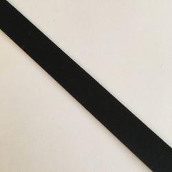 Bordure adhésive coton noir