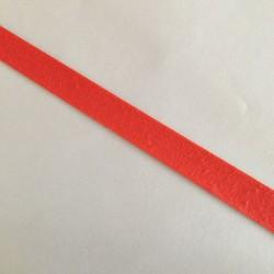 Bordure adhésive coton orange foncé