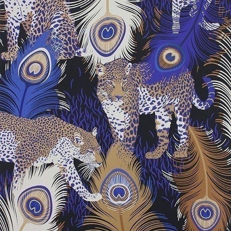 papier peint Leopardo