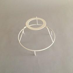 cercle tête diamètre 12 avec pieds