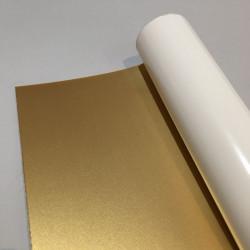 Polyphane adhésif doré 30x120cm