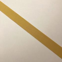 Bordure adhésive coton jaune d'or