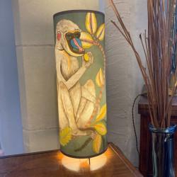 Lampe cylindre Singe