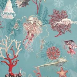 Papier peint fonds marins