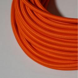 Câble rond orange