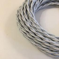 Câble torsadé gris très clair