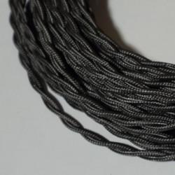 Câble torsadé gris foncé