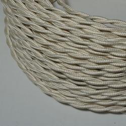 Câble torsadé ivoire