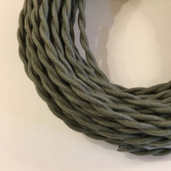 Câble torsadé coton kaki