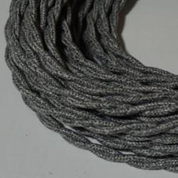 Câble torsadé lin gris