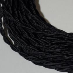 Câble torsadé noir