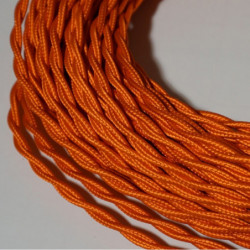 Câble torsadé orange