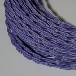 Câble torsadé parme