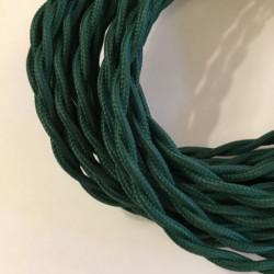 Câble torsadé vert foncé