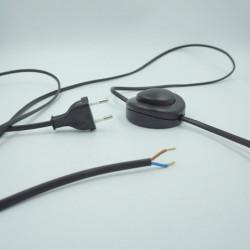 Cordon lampadaire noir