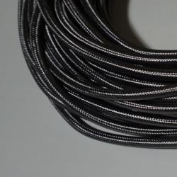 Câble rond gris foncé