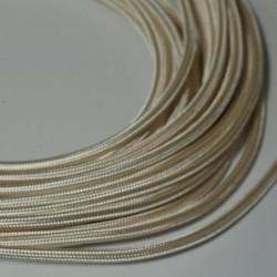 câble rond ivoire