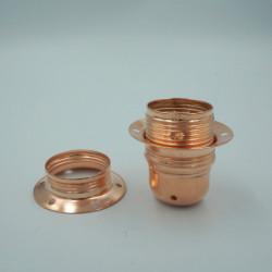 Douille E27 en cuivre