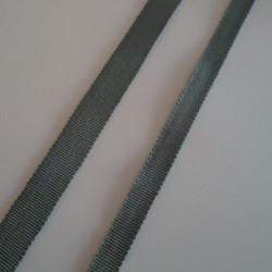 Gros grain gris 10mm
