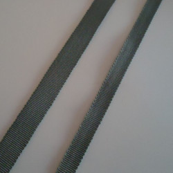 Gros grain gris 15mm