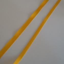 Gros grain jaune 15mm