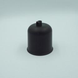 Pavillon plastique noir