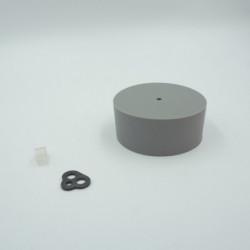 Pavillon en silicone gris