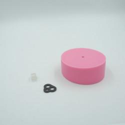 Pavillon en silicone rose